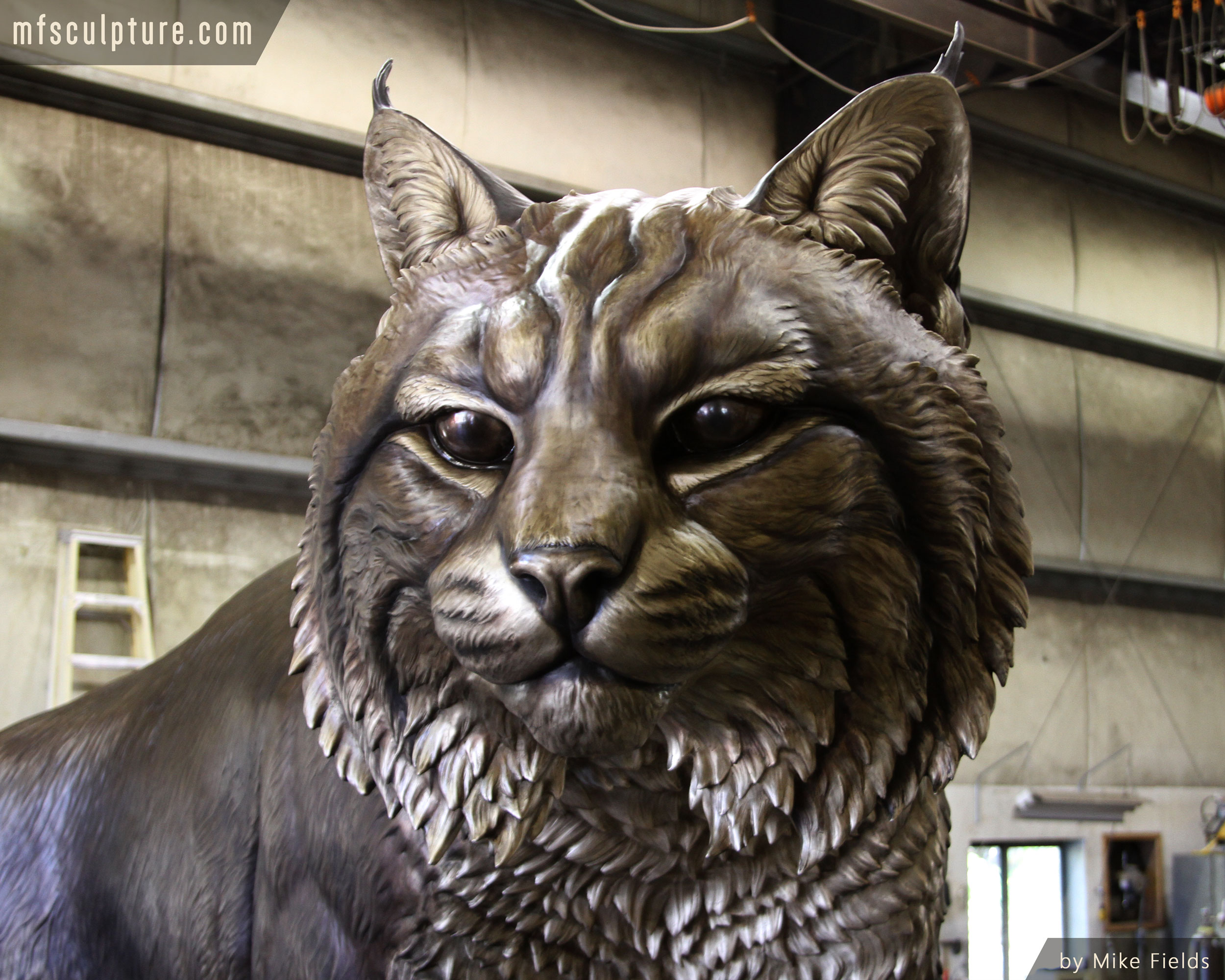 Johnson-&-Wales-University-Monument-Wildcat-Mascot-Mike-Fields-4